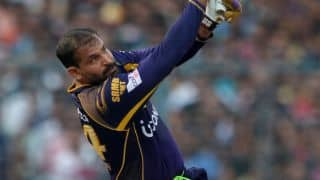 Yusuf Pathan's fifty guides Kolkata Knight Riders to 171-6 against Sunrisers Hyderabad, Match 55 of IPL 2016