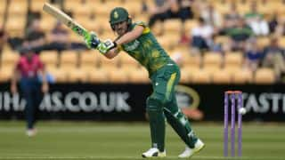 Faf du Plessis: We made lot of silly mistakes in 1st ODI against England