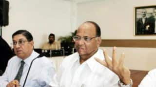 Sharad Pawar, N Srinivasan to join hands to decide on future BCCI President?