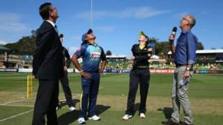 ऑस्ट्रेलिया-श्रीलंका पहले टी20 में टॉस के दौरान नजर आए 'तीन कप्तान