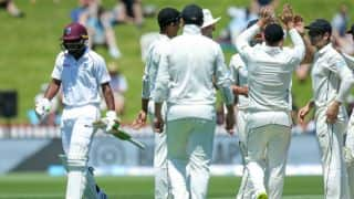 दूसरे मैच में दूसरी बार हिट विकेट आउट हुए सुनील एम्ब्रिस, बना डाला अनाचाहा रिकॉर्ड