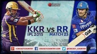Kolkata Knight Riders vs Rajasthan Royals, IPL 2015 Match 25 at Kolkata Preview: Stumbling KKR take on stuttering RR