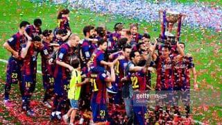 FC Barcelona clinch La Liga title for 24th time as Luis Suarez scores hat-trick against Granada