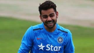 Virat Kohli says there are no problems in blowing kisses