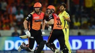 IPL 2019: Warner, Bairstow world class players, SRH will miss them at back end: Kane Williamson