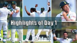 Sri Lanka vs South Africa 1st Test, Day 1 at Galle: Talking points from the day's play