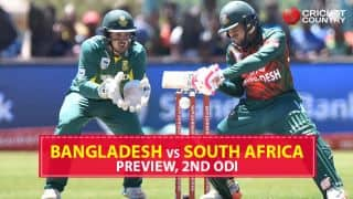 Bangladesh vs South Africa, 2nd ODI preview and likely XIs: Visitors look to deny hosts series win