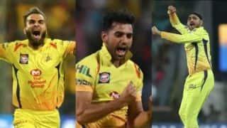 गेंदबाजों ने फिर दिलाई चेन्नई को जीत, कोलकाता का बल्लेबाजी क्रम ध्वस्त