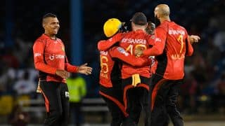 JAM win by 7 wickets | Live Cricket Score,Trinbago Knight Riders (TKR) and Jamaica Tallawahs (JAM): The Chris Gayle Show continues