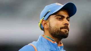 India vs Australia 2017, 1st ODI: Virat Kohli goes for a duck; Nathan Coulter-Nile rocks India's top-order