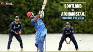 SCOT vs AFG 2016, 2nd ODI at Edinburgh: Predictions and Preview