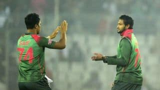 2nd T20I: Shakib Al Hasan's maiden five-for levels series for Bangladesh