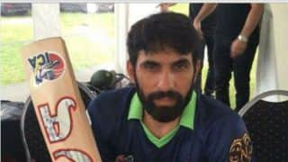 Misbah-ul-Haq slams 34-ball century in Norway, in charity match
