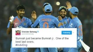 India clinch 2nd T20I in a thrilling last-over contest; Twitter reactions