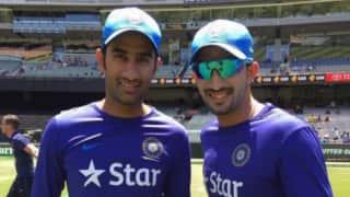Gurkeerat Singh, Rishi Dhawan to replace Ajinkya Rahane, Bhuvneshwar Kumar respectively in India vs Australia 2015-16 T20I series