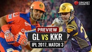 Gujarat Lions vs Kolkata Knight Riders, IPL 2017, match 3 preview: Suresh Raina-led Lions look to maintain clean sheet vs KKR