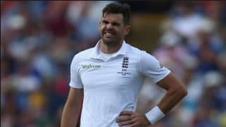 James Anderson ruled out from Chennai Test vs India