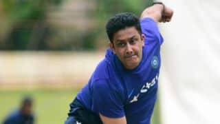 India vs West Indies 2016: Head coach Anil Kumble bowls in net session ahead of 2nd warm-up game