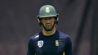 Fit-again Du Plessis returns to lead South Africa in 3rd ODI vs Zimbabwe