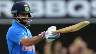 Virat Kohli, Shikhar Dhawan fifties keep India chase afloat against Australia in 4th ODI at Canberra