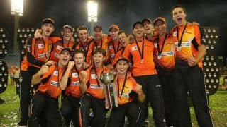 Perth Scorchers fined for slow over-rate in BBL final