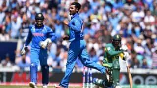 Asia Cup 2018: Ravindra Jadeja, Siddarth Kaul to replace injured Axar Patel, Shardul Thakur in India's ODI squad