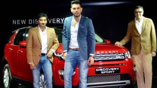 Yuvraj Singh, Narain Karthikeyan at launch of Discovery Sport SUV in photos
