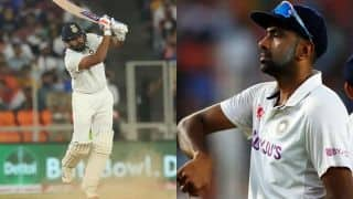 ICC Test Rankings: Rohit Sharma Attains Career-Best 8th Spot in Batsmen's Chart; Ravichandran Ashwin Climbs to 3rd in Bowlers' Tally
