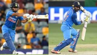 Pant, Karthik begin battle for India's No. 1 wicketkeeper-batsman