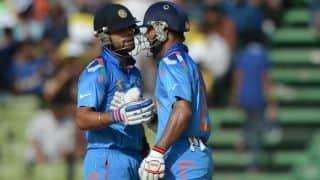 India vs West Indies 2014: Shikhar Dhawan wants Virat Kohli to perform better