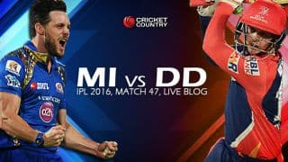 DD 126, 19.1 overs | Live Cricket Score Mumbai Indians vs Delhi Daredevils: MI beat DD by 80 runs