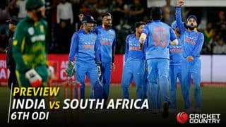 India vs South Africa, 6th ODI: India aim to put lower order in spotlight with an eye on 5-1 scoreline