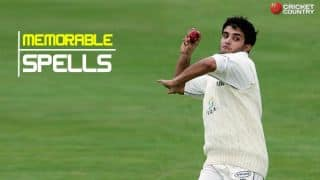 Top five bowling spells by Sourav Ganguly
