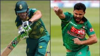 ICC विश्व कप :फाफ डु प्लेसिस ने टॉस जीतकर पहले गेंदबाजी का फैसला किया