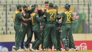VIDEO: South Africa A practice ahead of India tour