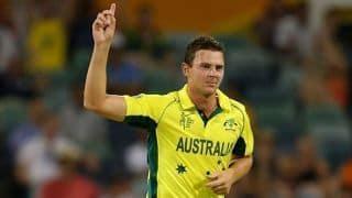 दक्षिण अफ्रीका के खिलाफ वनडे सीरीज से पहले फिट हो जाएंगे जॉश हेजलवुड