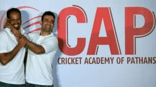Irfan Pathan, Yusuf Pathan inaugurate 'Cricket Academy of Pathans' in Surat