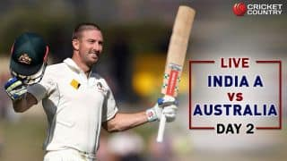 LIVE Cricket Score, India A vs Australia tour match, Day 2: STUMPS