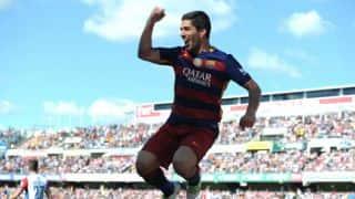 Luis Suarez surprised on replacing Lionel Messi as Barcelona's lead striker