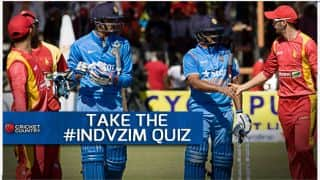 How well do you remember India vs Zimbabwe ODI statistics?