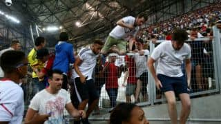 Euro 2016: At least 35 injured in England-Russia fans' clashes