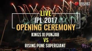 KXIP vs RPS, IPL 2017, Opening Ceremony at Holkar Stadium, Indore: Live Updates