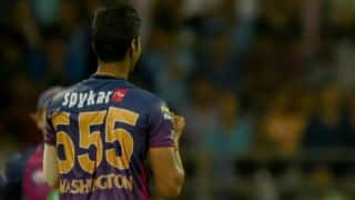 IPL 2018: Washington Sundar decodes secret behind jersey number 555