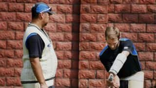 New Zealand undergo extended training at nets in Delhi