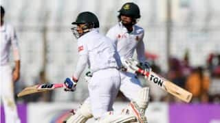 BAN vs ENG, 1st Test: Sabbir Rahman keeps hosts' hopes alive at stumps, Day 4