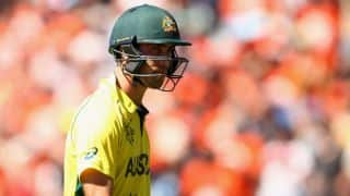 AUS vs WI 2016: Maxwell confident of attaining fitness