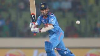 Rahane, Kohli keep India on track