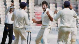 Ranji Trophy 2013-14 Final, Day 2 Live Cricket Score: Karnataka take control with ton from Ganesh Satish