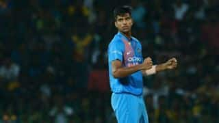 Washington Sundar: Thinking about the competition makes things hard