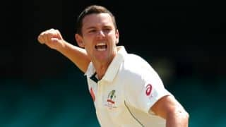 Josh Hazlewood: Three pacers should be enough for India tour